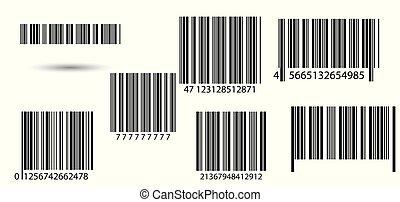 barcodes., ensemble