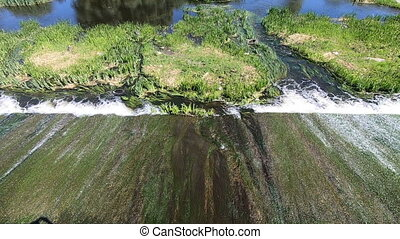 barrage, eau, ruisseau