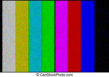 barres, fracas, tv, -, couleur, ntsc, test.