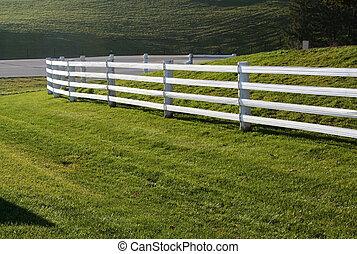 barrière, blanc