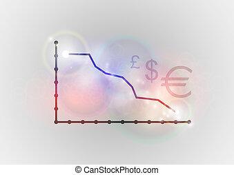 bas, graphique
