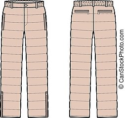 bas, pantalon