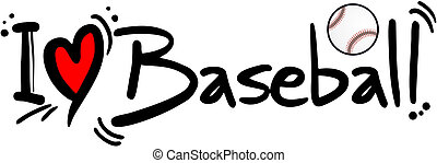 base-ball, amour