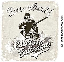 base-ball, classique