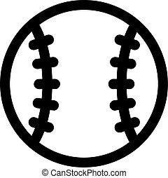 base-ball, pictogramme