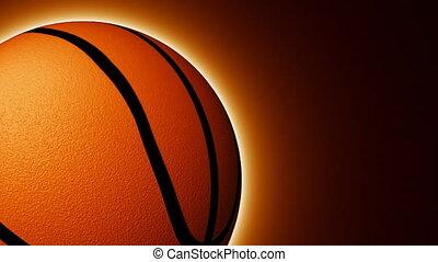 basket-ball, animation, balle