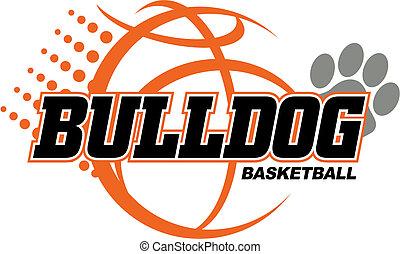 basket-ball, bouledogue, conception