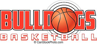 basket-ball, bouledogues, conception
