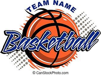 basket-ball, conception
