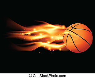 basket-ball, flamboyant