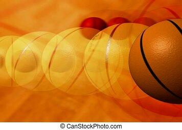 basket-ball, sport, balle