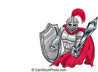 bataille, chevalier