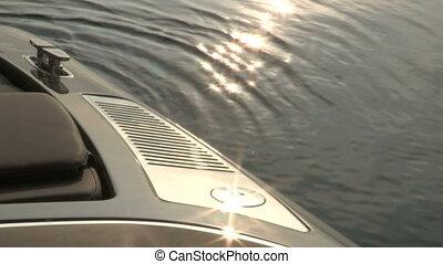 bateau, chrome, conduit