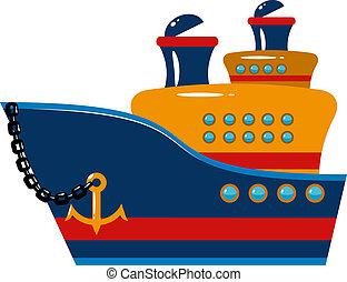 bateau passager, croisière