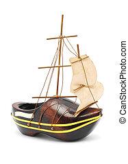 bateau, souvenir