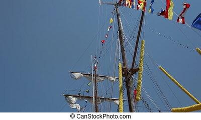 bateau, vieux, 2, nautisme
