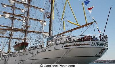 bateau, vieux, nautisme, marine