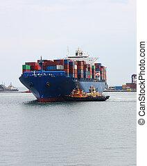 bateaux, cargaison