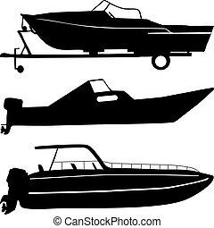 bateaux, moteur