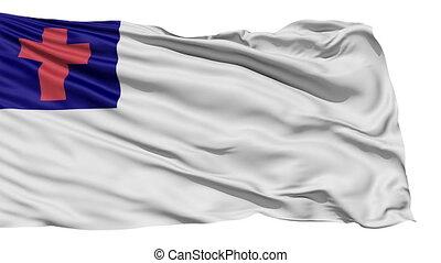 battement des gouvernes, blanc, chrétien, drapeau