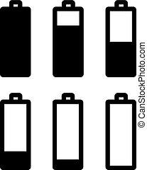 batterie, icône