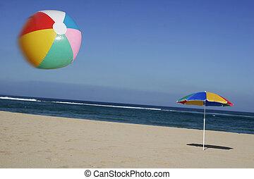 beachball, air