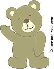 bear8, teddy