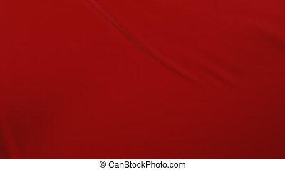 beau, fait boucle, résumé, surface, tissu, loin, voler, matte., arrière-plan., animation, rouges, 3d, révéler, ouverture, screen., onduler, tissu, ondulé, alpha, soie, hd, mouvement, 4k, ultra