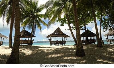 beau, philippines, island., île, daco, plage tropicale, siargao.