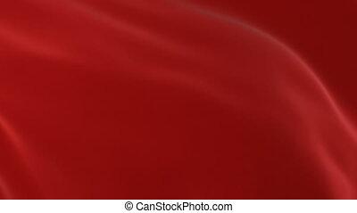 beau, résumé, loin, voler, textile, arrière-plan., animation, rouges, 3d, ouverture, screen., onduler, tissu, ondulé, alpha, soie, hd, transition, masque, vert, 4k, ultra, vent