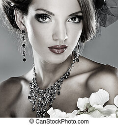 beau, style, mode, photo, mariages, décorations, girl