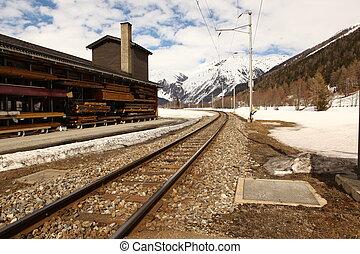 beau, suisse, emplacement