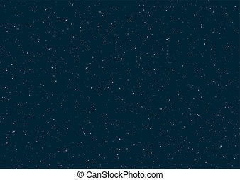 beaucoup, étoiles, fond