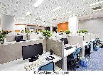 beijing, lieu travail, bureau