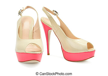 belle femme, chaussures