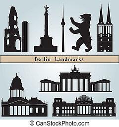 berlin, repères, monuments