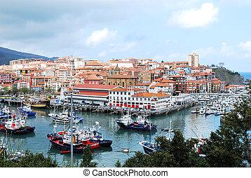 bermeo, pays, espagne, basque