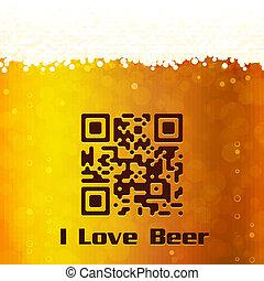 bière, amour, fond