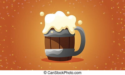 bière, boisson, animation
