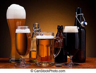 bière, nature morte