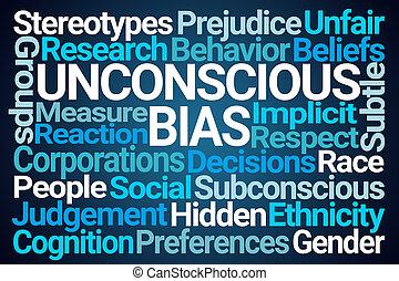 bias, mot, inconscient, nuage