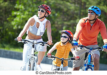 bicycles, équitation