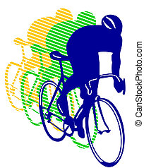 bicyclette course