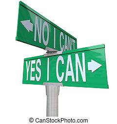 bidirectionnel, -, signe, rue, boîte, oui