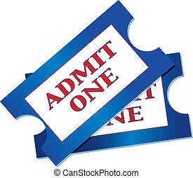 billets, admission