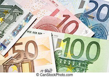 billets banque, argent, euro