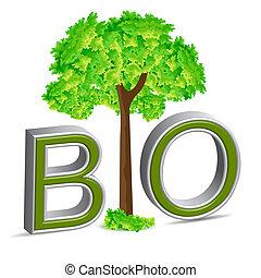 bio, arbre