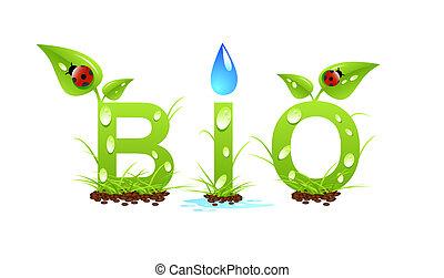 bio, concept, mot