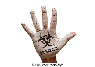 biohazard, paume
