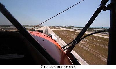 biplan, atterrissage